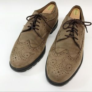 G H Bass & Co Suede Leather Oxfords Men's Size 12